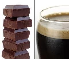 cerve con chocolate
