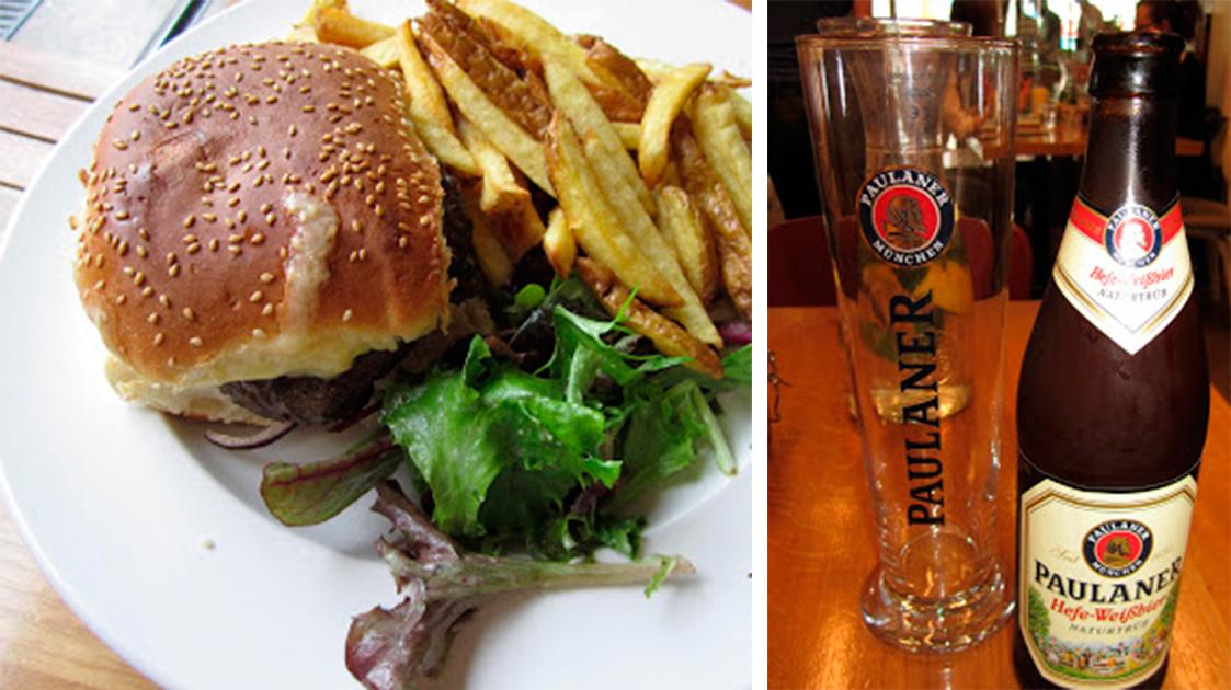 Green 19, Hamburguesa y Cerveza