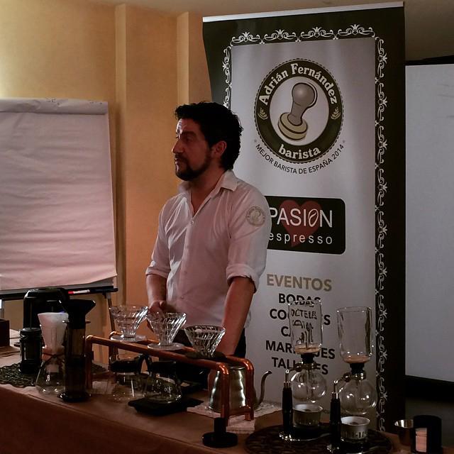 Los 10 secretos del gran barista: Adrián Fernández
