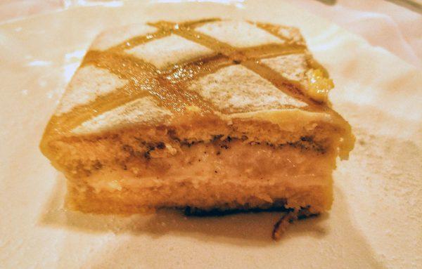 Tarta Segoviana, Restaurante el Cordero