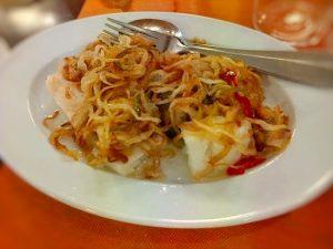 Tacos de bacalao, Trabanco, Miss Maridajes